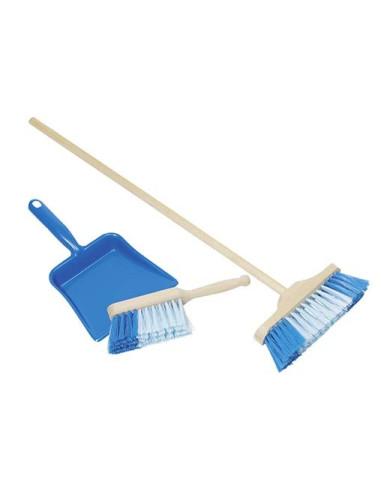 Plastic Dustpan, Hand-Broom And Broom