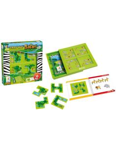 Puzzle - Barevné sněhové vločky