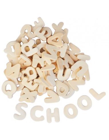 Wooden Letters 22 Mm, 300 Pcs