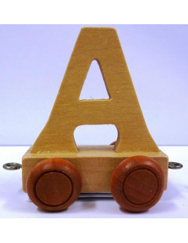 Vagónek A - hnědá kolečka