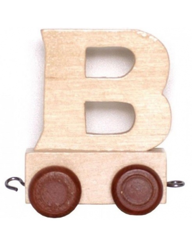 "Train Trailer ""B"" Brown Tyres"