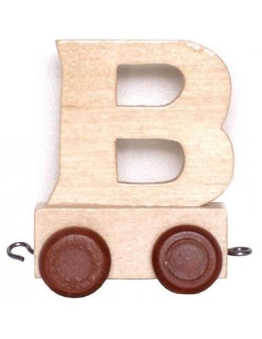 Vagónek B - hnědá kolečka