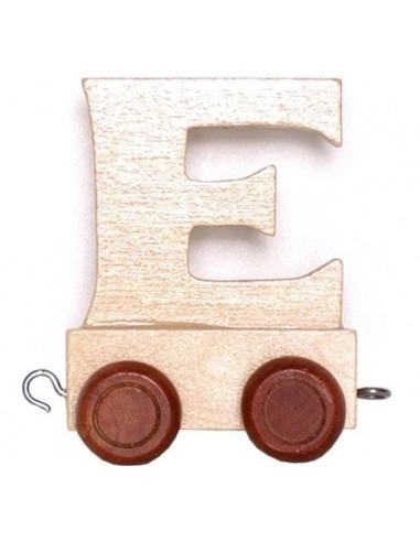 """Train Trailer """"E"""" Brown Tyres"""