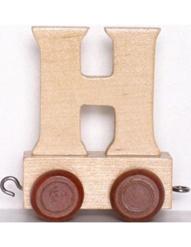 Vagónek H - hnědá kolečka