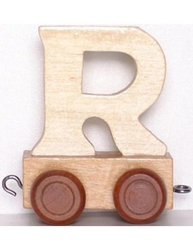 Vagónek R - hnědá kolečka