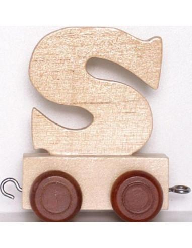 Vagónek S - hnědá kolečka