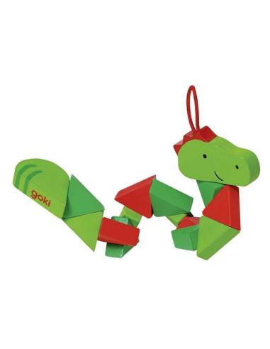 Pocket Puzzle Crocodile