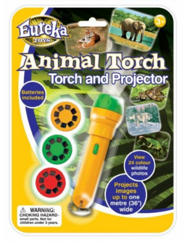 Eureka Wildlife Animal Torch & Projector