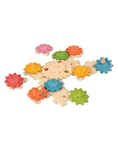 Puzzle ozubená kolečka