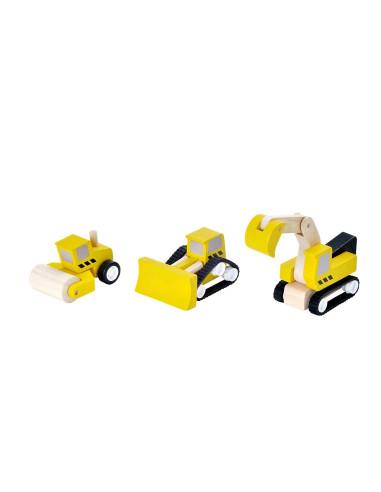 Stavební auta (k autodráze)