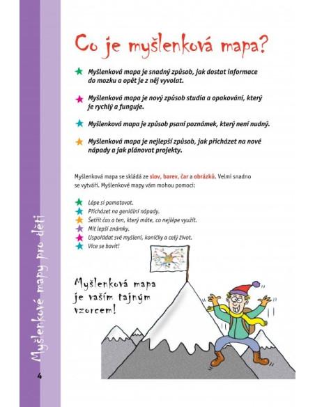 Myšlenkové mapy pro děti. Rychlá cesta k úspěchu nejen ve škole -  Tony Buzan