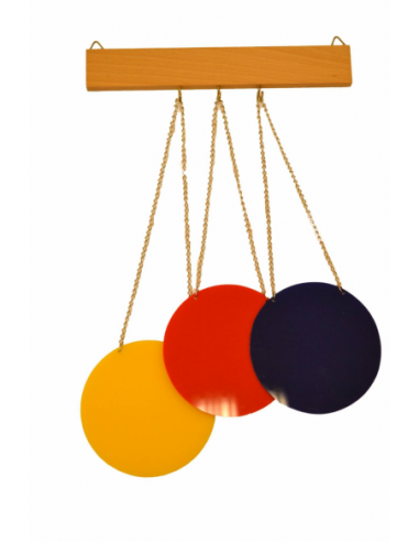 Set Of Three Colour Discs