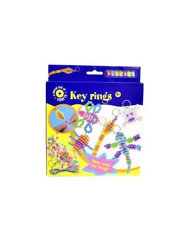 Přívěsky na klíče - korálky