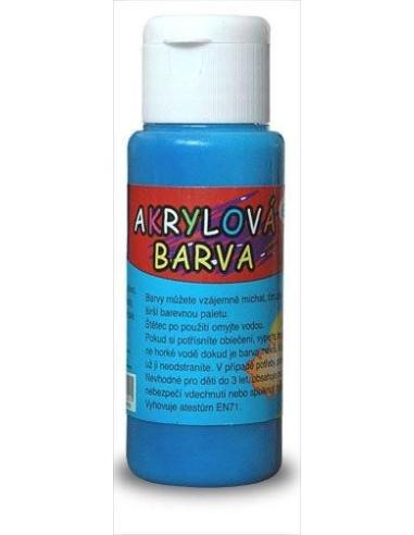 Akrylová barva 60 ml - modrá tmavě
