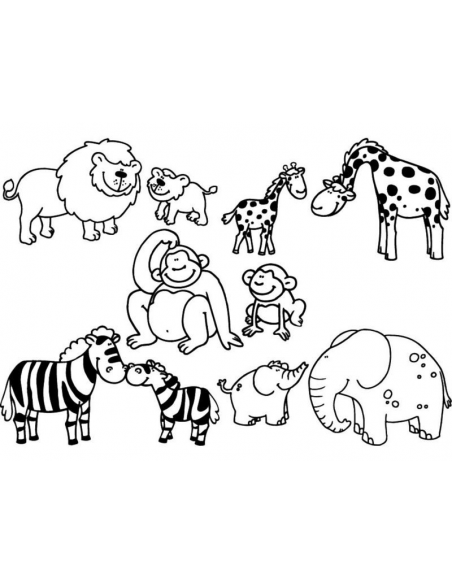 Stampominos - Safari