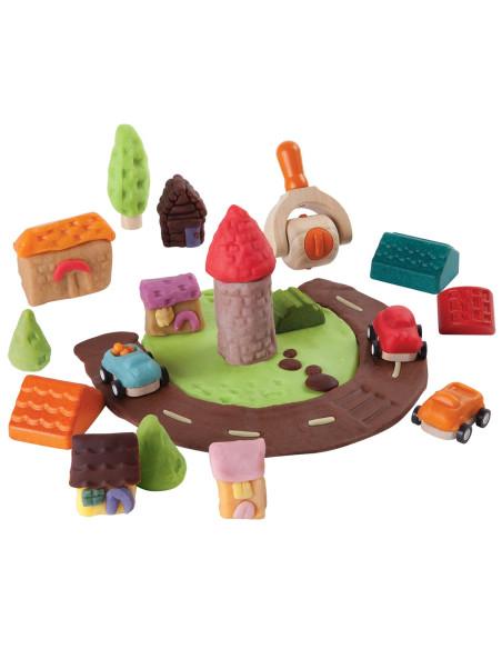 Build- A-Town Dough Set
