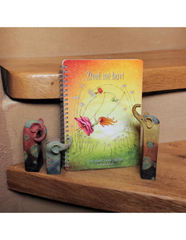 """Notebook Clean """"I Enjoy Life"""""""