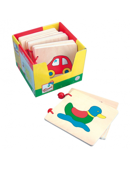 Wooden Picture Book