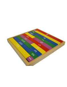 Smirkové číslice s krabičkou