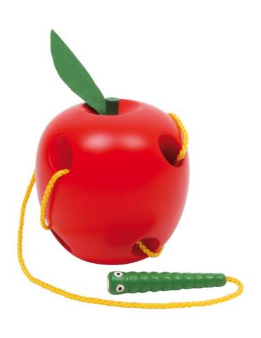 """Provlékadlo """"Jablko s červíkem"""""""