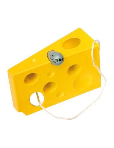 """Provlékadlo """"Sýr a myš"""" barevné"""