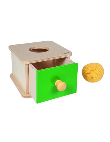 Nienhuis - Box na vkládání háčkovaného míčku