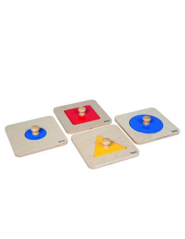 Nienhuis - Single Shape Puzzle Set