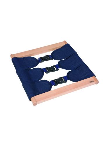 Nienhuis - Zapínací rám – umělohmotné přezky, pro batolata