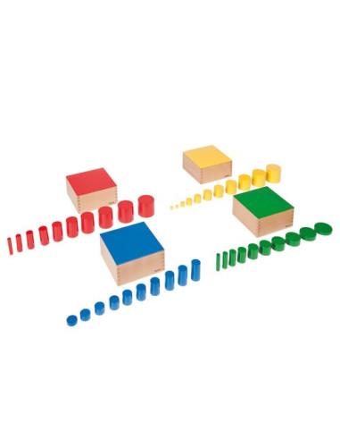 Nienhuis - Čtyři sady barevných válečků bez úchytů