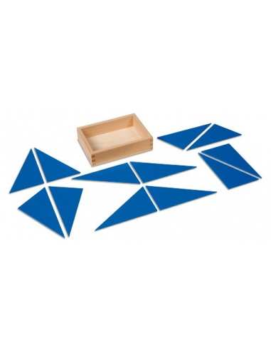 Nienhuis - Modré konstrukční trojúhelníky