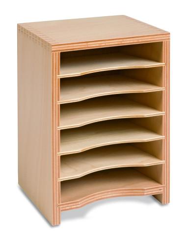 Nienhuis - Geometric Form Card Cabinet