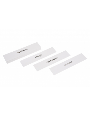 Nienhuis - Geometric Cabinet Advanced Triangle Labels