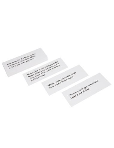 Nienhuis - Sada úkolů ke Geometrickým tělesům, v anglickém jazyce