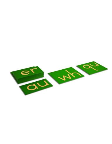 Nienhuis - Hmatová písmena - dvojice  (tiskací písmo - malé)