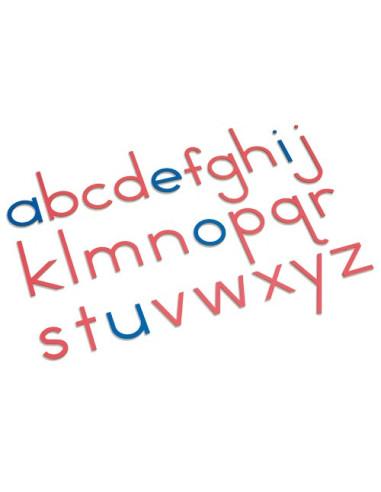 Nienhuis - Dřevěná pohyblivá abeceda (tiskací písmo)