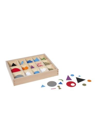 Nienhuis - Symboly větných členů, plastové, v krabičce