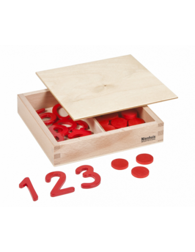 Nienhuis - Cut-Out Numerals And Counters: International Version