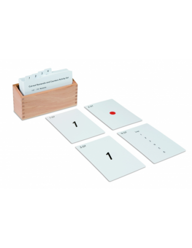 Nienhuis - Cut-Out Numerals And Counters Activity Set