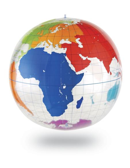 Velký nafukovací globus (popisovací)