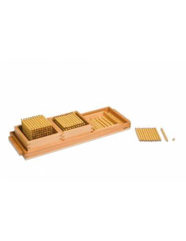 Nienhuis - Devítková hra s podnosem (umělé perličky)