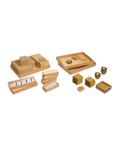 Nienhuis - Velký perlový materiál – set s umělými perličkami