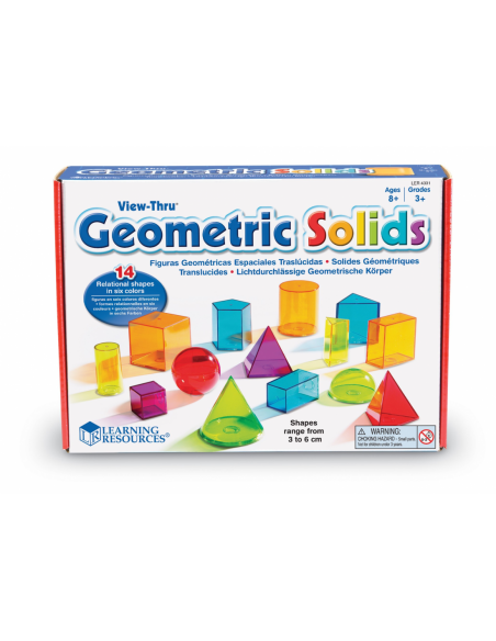 View-Thru Colourful Geometric Shapes