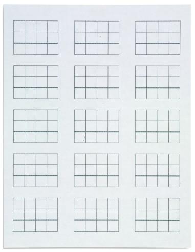 Nienhuis - Stamp Game Paper: 15 Problems