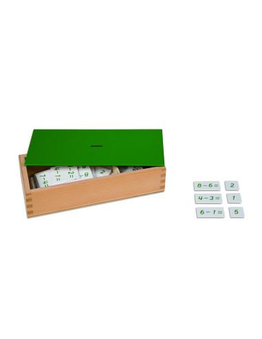 Nienhuis - Krabička s příklady k odčítání