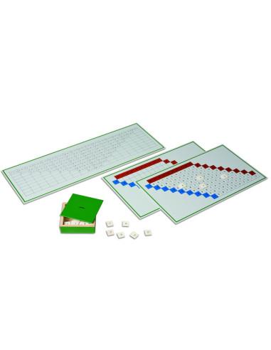 Nienhuis - Odčítací prstové tabulky