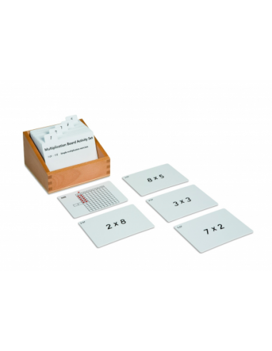Nienhuis - Multiplication Board Activity Set