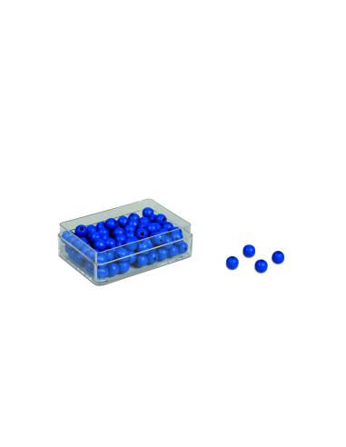 Nienhuis - Modré korálky 100 kusů