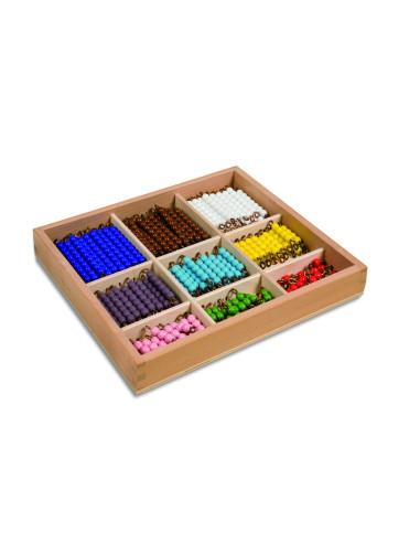 Nienhuis - Checker Board Beads: Individual Beads Glass
