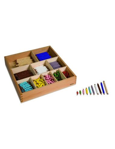 Nienhuis - Malá korálková krabice (skleněné korálky)