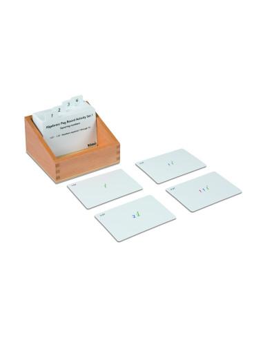 Nienhuis - Algebraic Peg Board Activity Set: 1